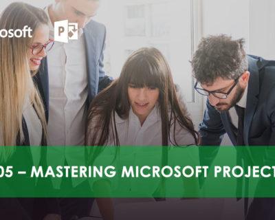 MS 55205 – Mastering Microsoft Project 2016