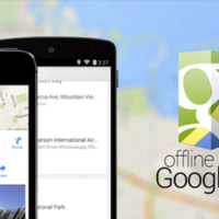 Using Google Maps Offline